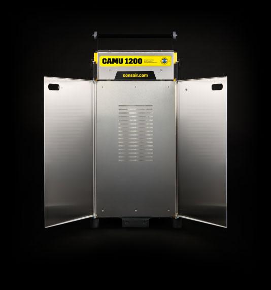 Aktiivinen pölynhallinta vaatii kohdepoistolaitteen esimerkkinä CAMU 1200