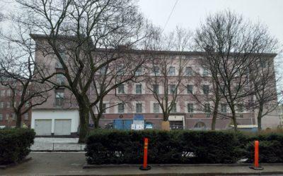 Minervaskolan-P1-työmaalla hallitaan pölyä CAMUlla